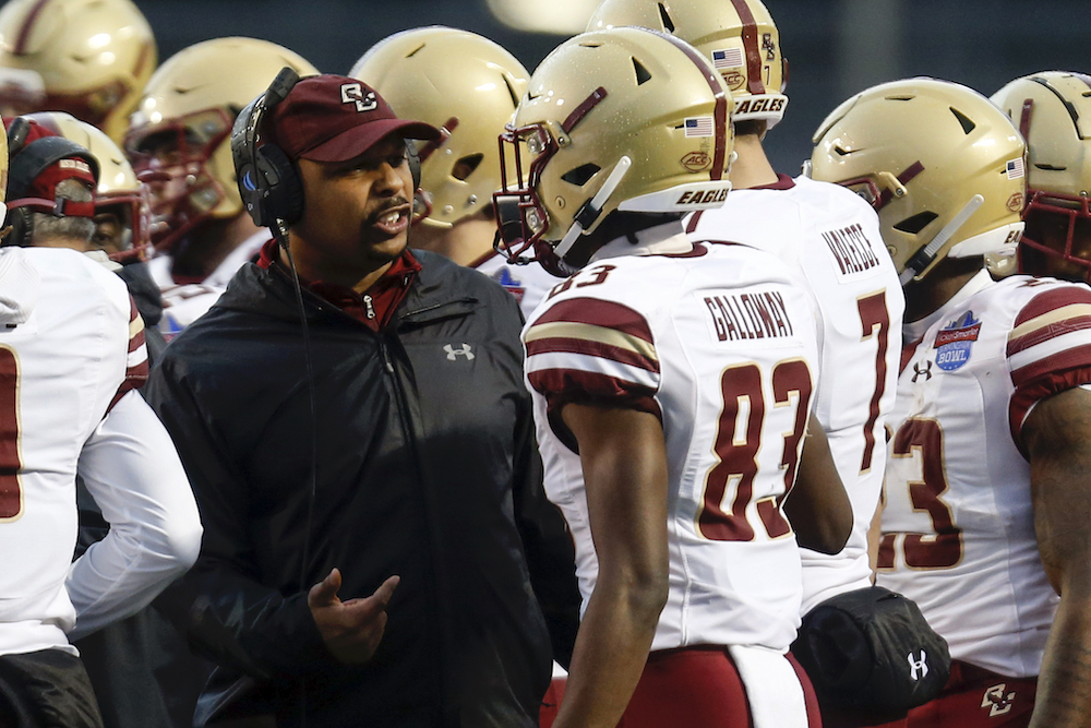 Rich Gunnell Will Return to BC Football as Running Backs Coach