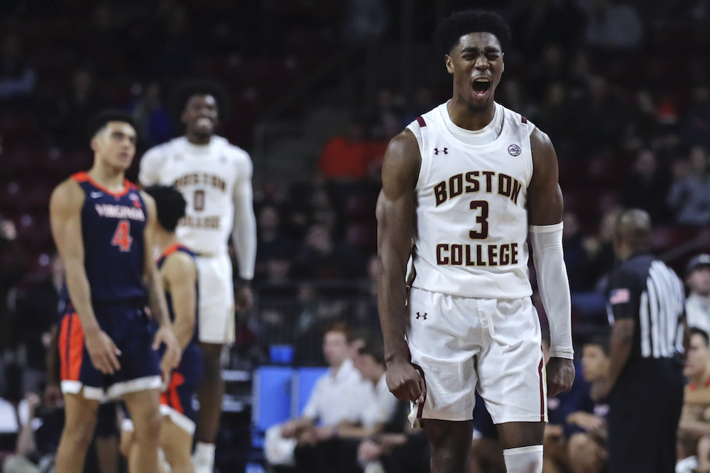 Freshmen Shine as BC Stuns Virginia, 60-53