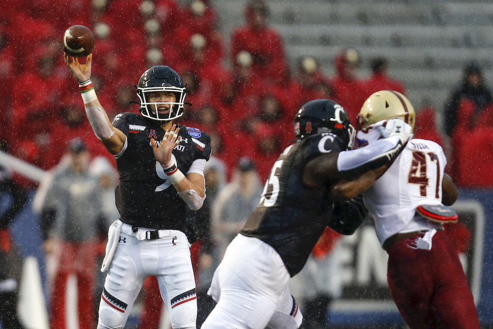 Notebook: BC Can't Control Ridder, Bearcats Slice Through Eagles in Birmingham Bowl