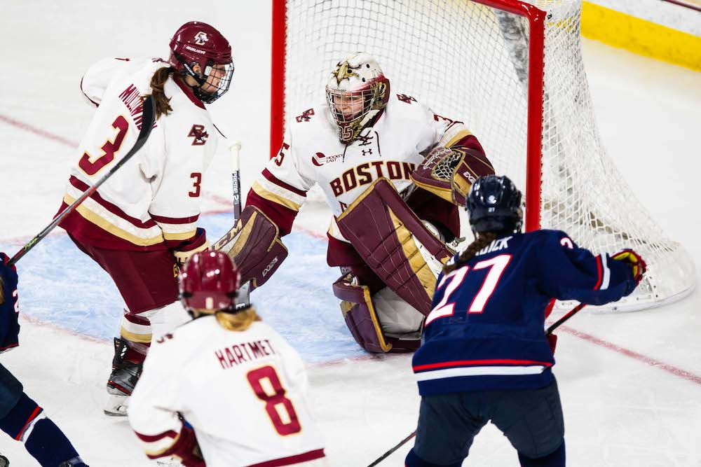 Eagles Shutout by UConn as Huskies Force Game Three in HEA Quarterfinals