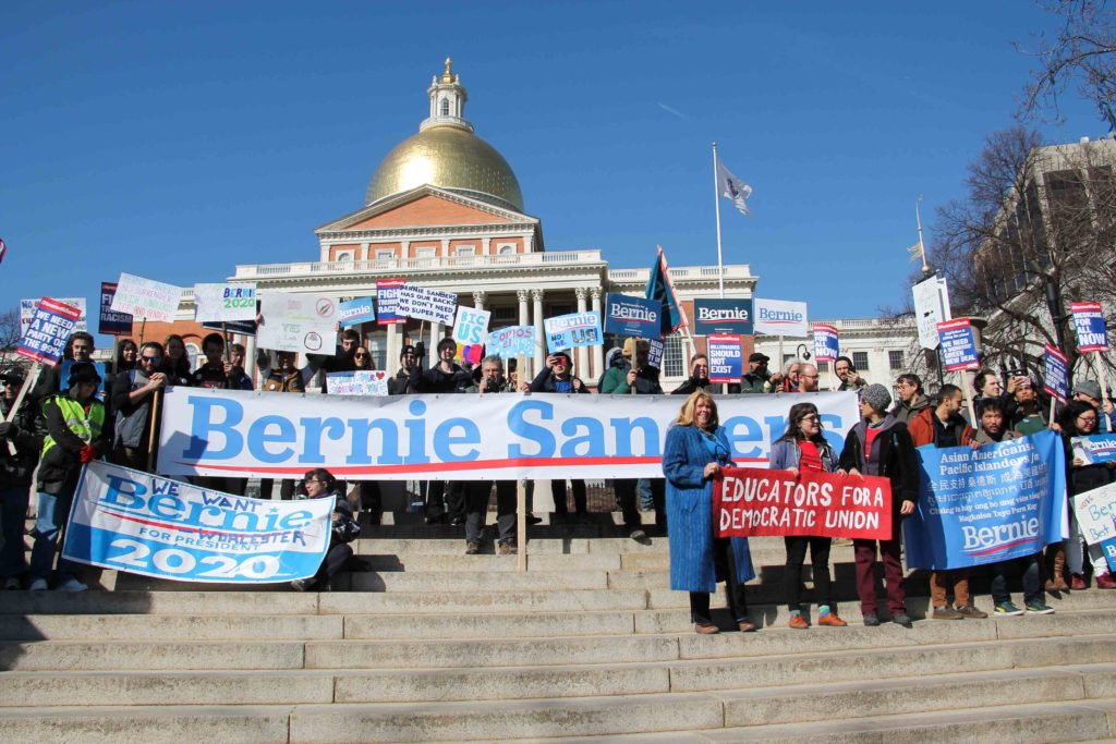 Boston Socialist Alternative Organizes Rally for Bernie Sanders