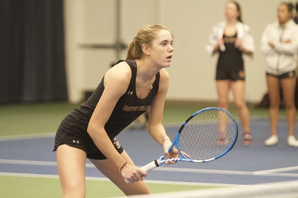 Duke Sweeps Women's Tennis 4-0