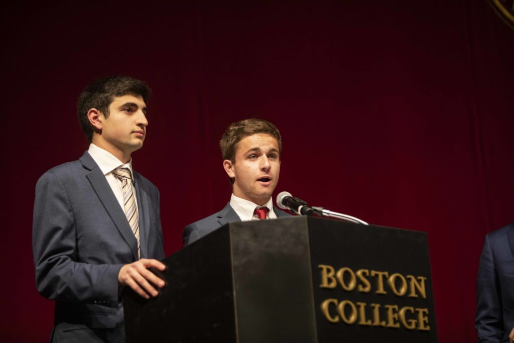 Newly Elected UGBC Pres. Guma and VP Atinizian Lay Out Policy Initiatives