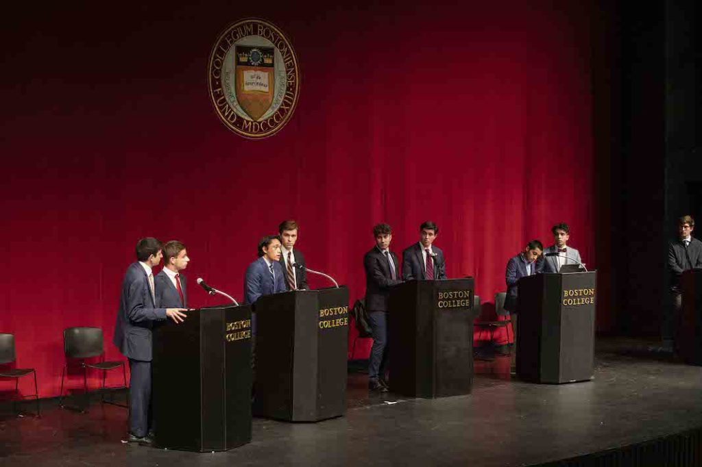 UGBC Holds Final Presidential Debate
