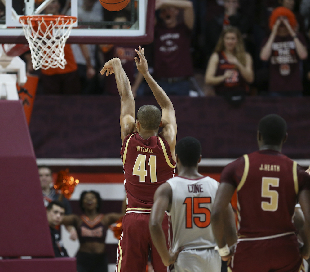 Eagles Hold off Virginia Tech in Overtime Thriller