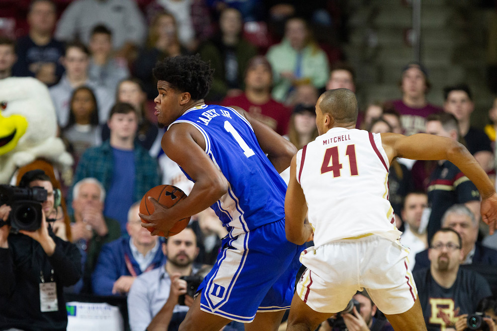 Notebook: Three-Point Shooting Plagued Eagles in Loss to Duke