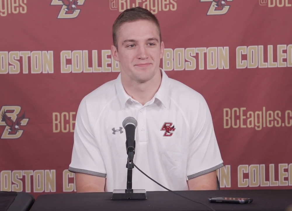 Phil Jurkovec Explains His Decision to Transfer to BC
