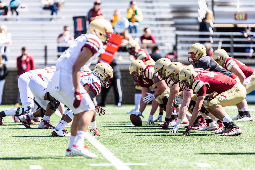 Hafley Looks to Keep Boston College Spring Football Alive