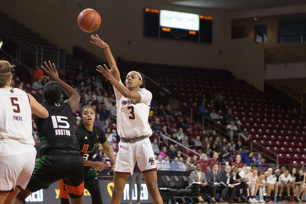 Eagles Advance in ACC Tournament With Win Over Clemson