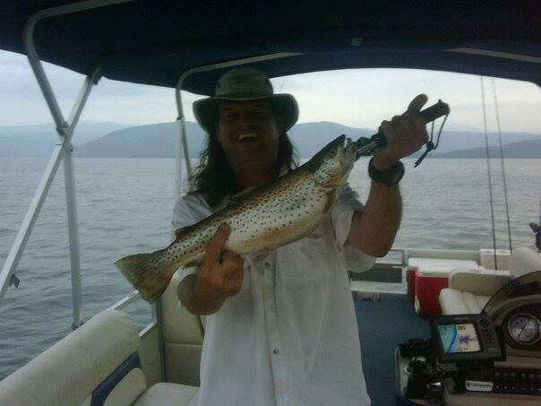 A photo of David Pugh's catch