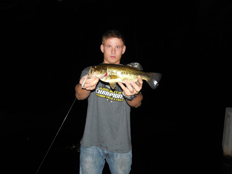 A photo of Mitchell Paisker's catch