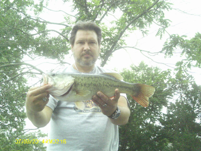 A photo of Tim Swartz's catch