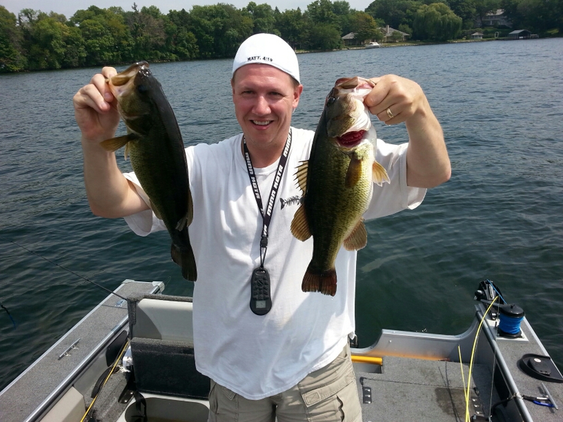 A photo of Gregory Jones's catch