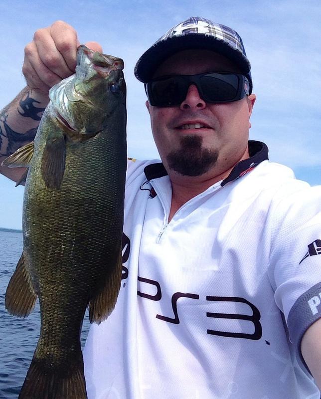 A photo of Tim Cote's catch
