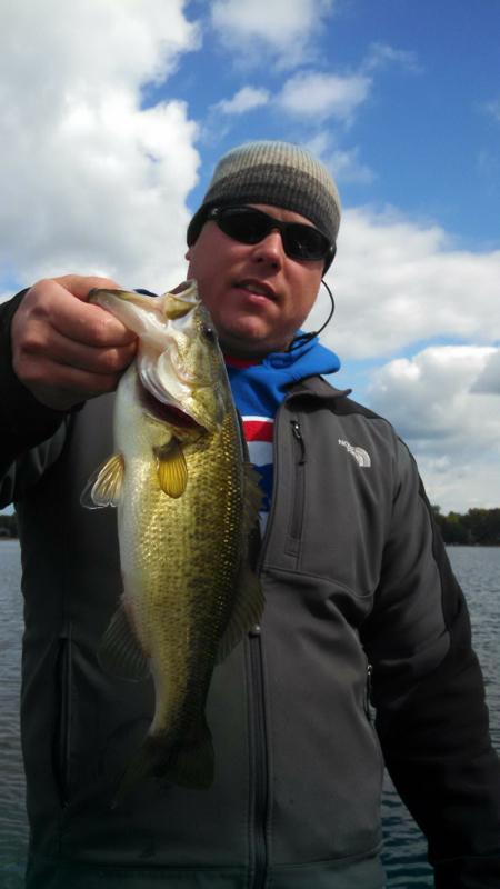 A photo of Clint Mock's catch