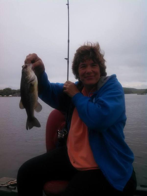 A photo of Patty Bennett's catch