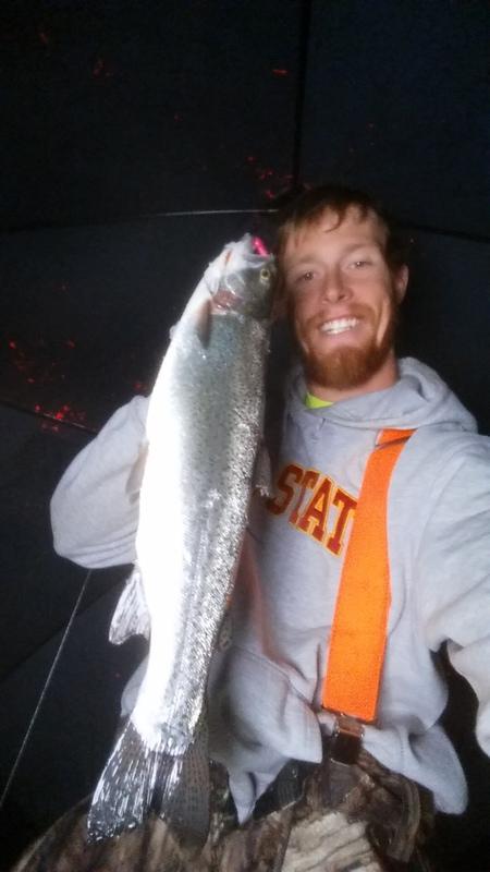 A photo of Adam Wamsher's catch