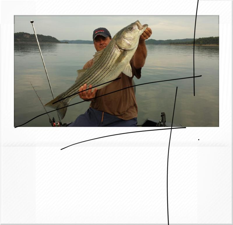 A photo of danny cox's catch