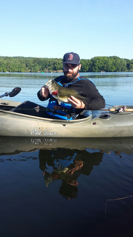A photo of Alex Lawrence's catch