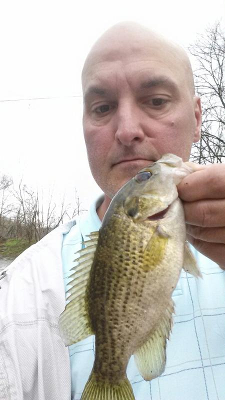 A photo of A.J. Huddleston's catch