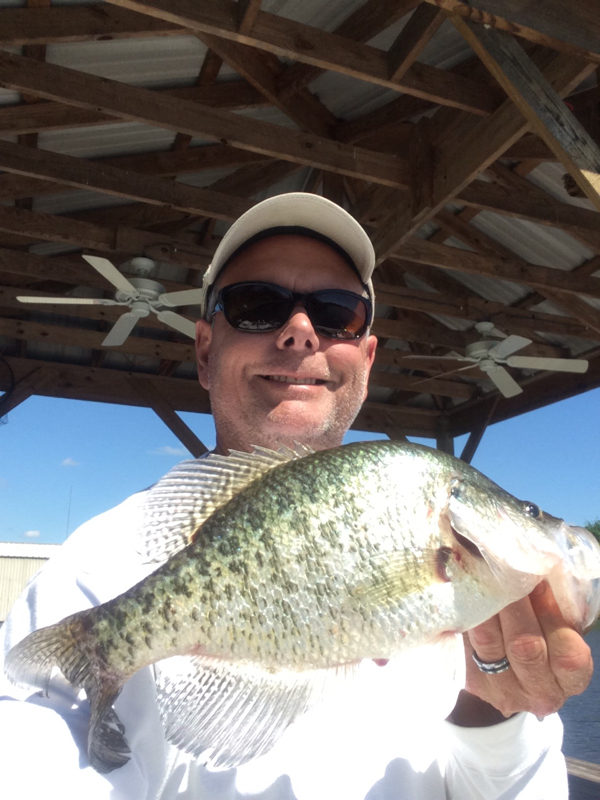 A photo of Bobby Umbaugh's catch