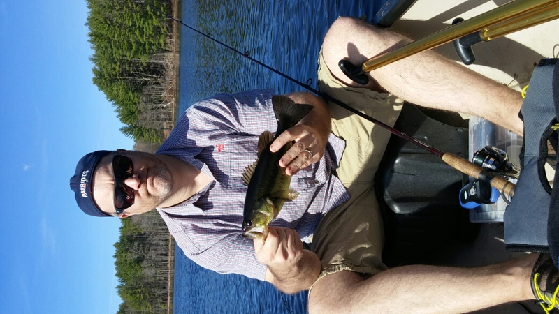 A photo of Travis Morey's catch