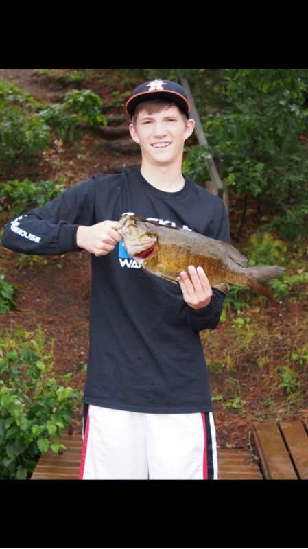 A photo of Brett Yahnke's catch