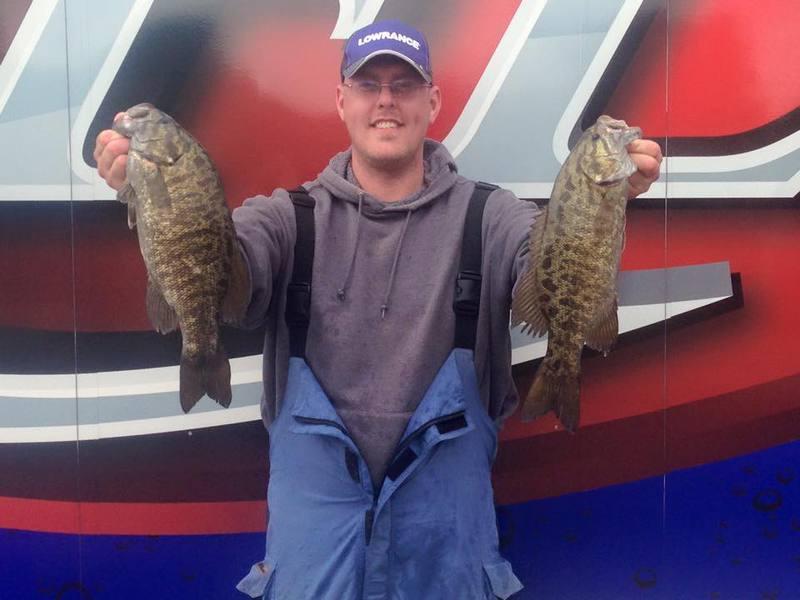 A photo of Ben Rockey's catch