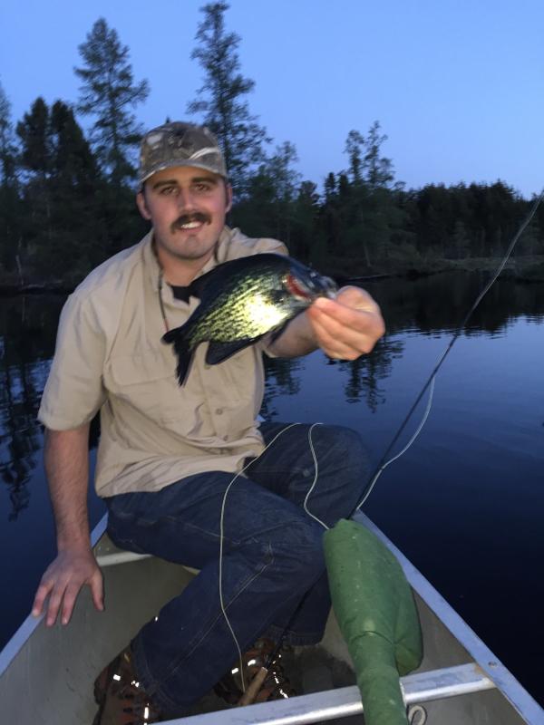 A photo of Vince Schmitz's catch