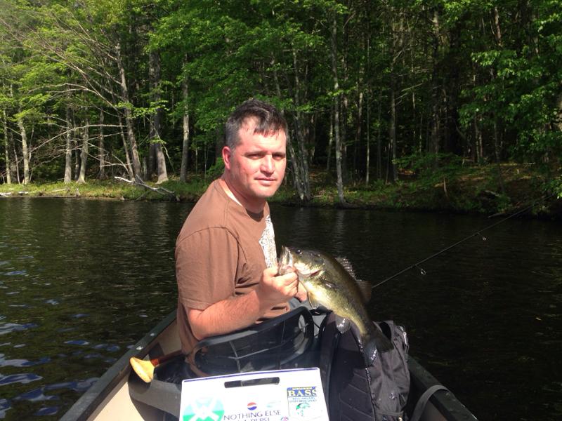 A photo of Bill Blonda's catch