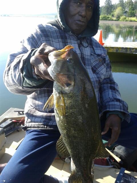 A photo of tyrone horton's catch