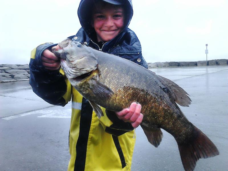A photo of Dustin Tabbert's catch