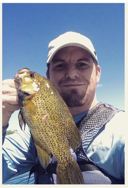 A photo of Jeff Kolbe's catch