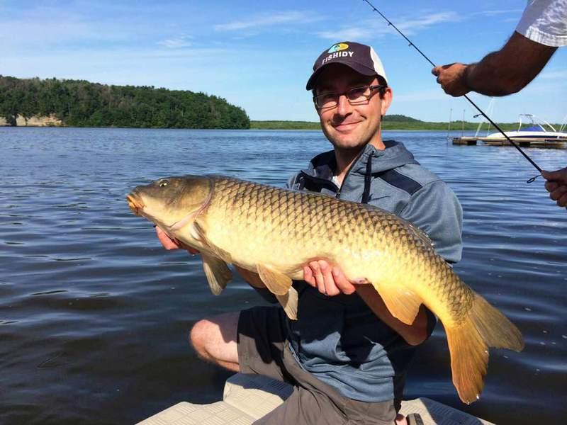 A photo of Jon Giacalone's catch