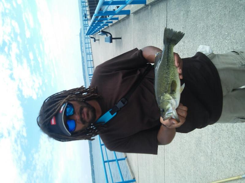 A photo of Tj .'s catch