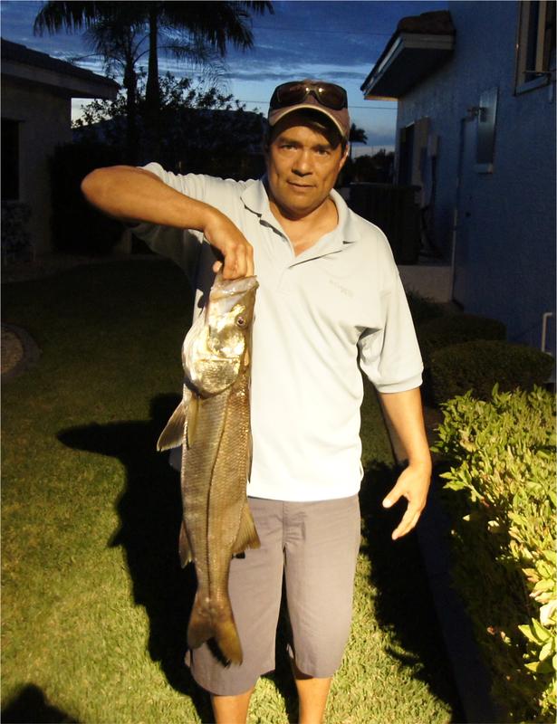A photo of william palmer's catch