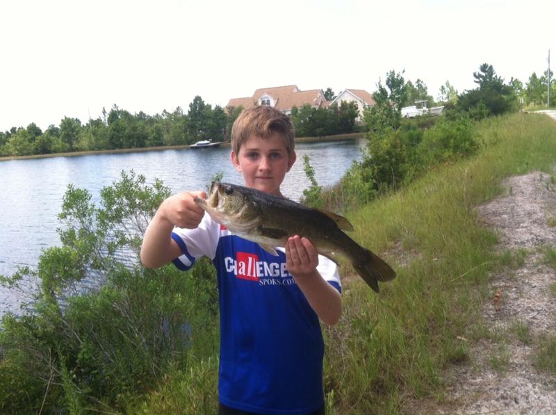 A photo of Steve Glew's catch