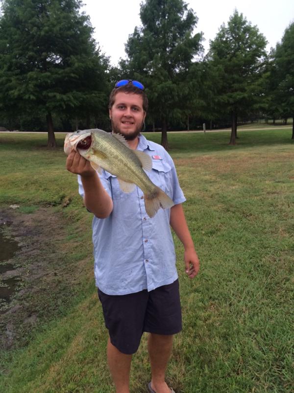 A photo of Jacob Davis's catch