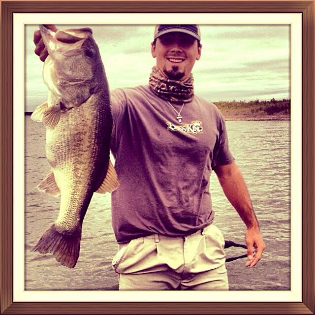 A photo of Logan Clark's catch