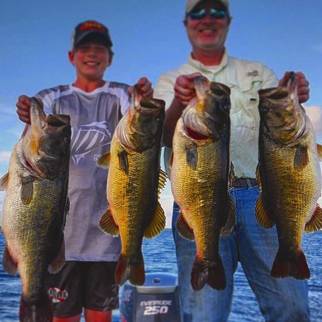 A photo of Jay Barze's catch