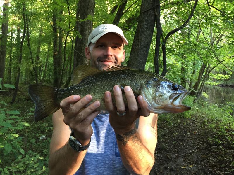 A photo of Jason Glew's catch