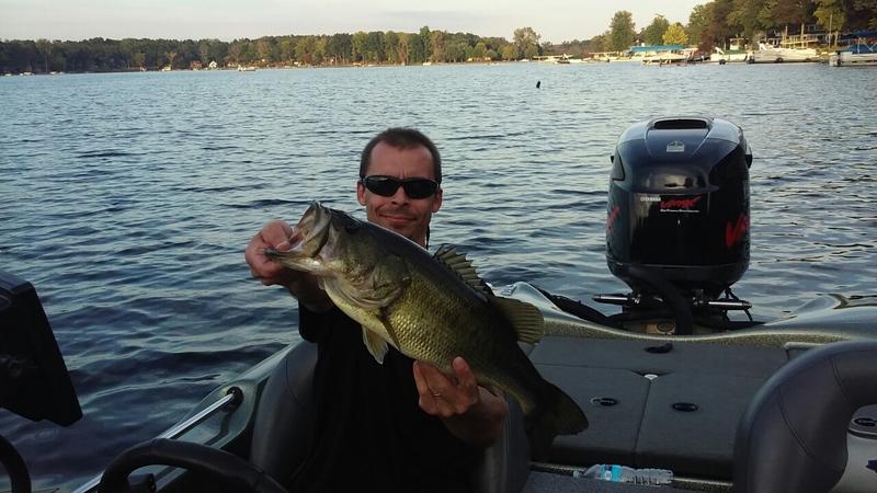 A photo of jason bucha's catch