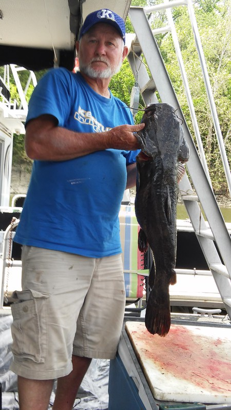 A photo of Bill Summitt's catch