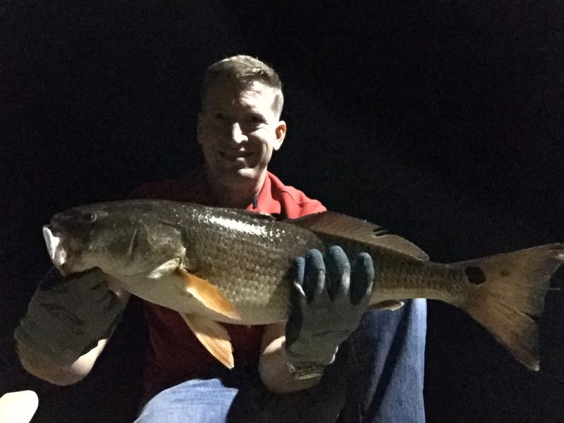 A photo of Roger Mattioli's catch
