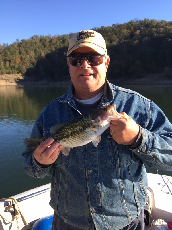 A photo of Daniel Baker's catch