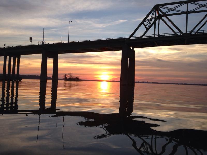 James river dutch gap va fishing reports map hot spots for Harrison fishing pier