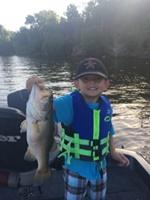 A photo of John Morgan's catch