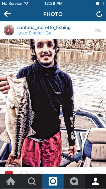 A photo of Santana Moretto's catch