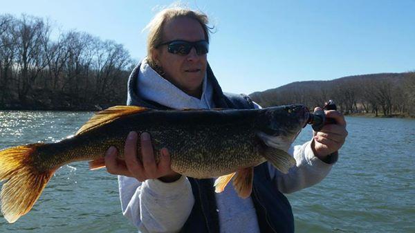 A photo of Rob Koontz's catch