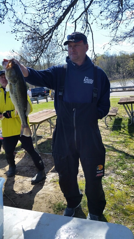 A photo of Eddie Goode's catch